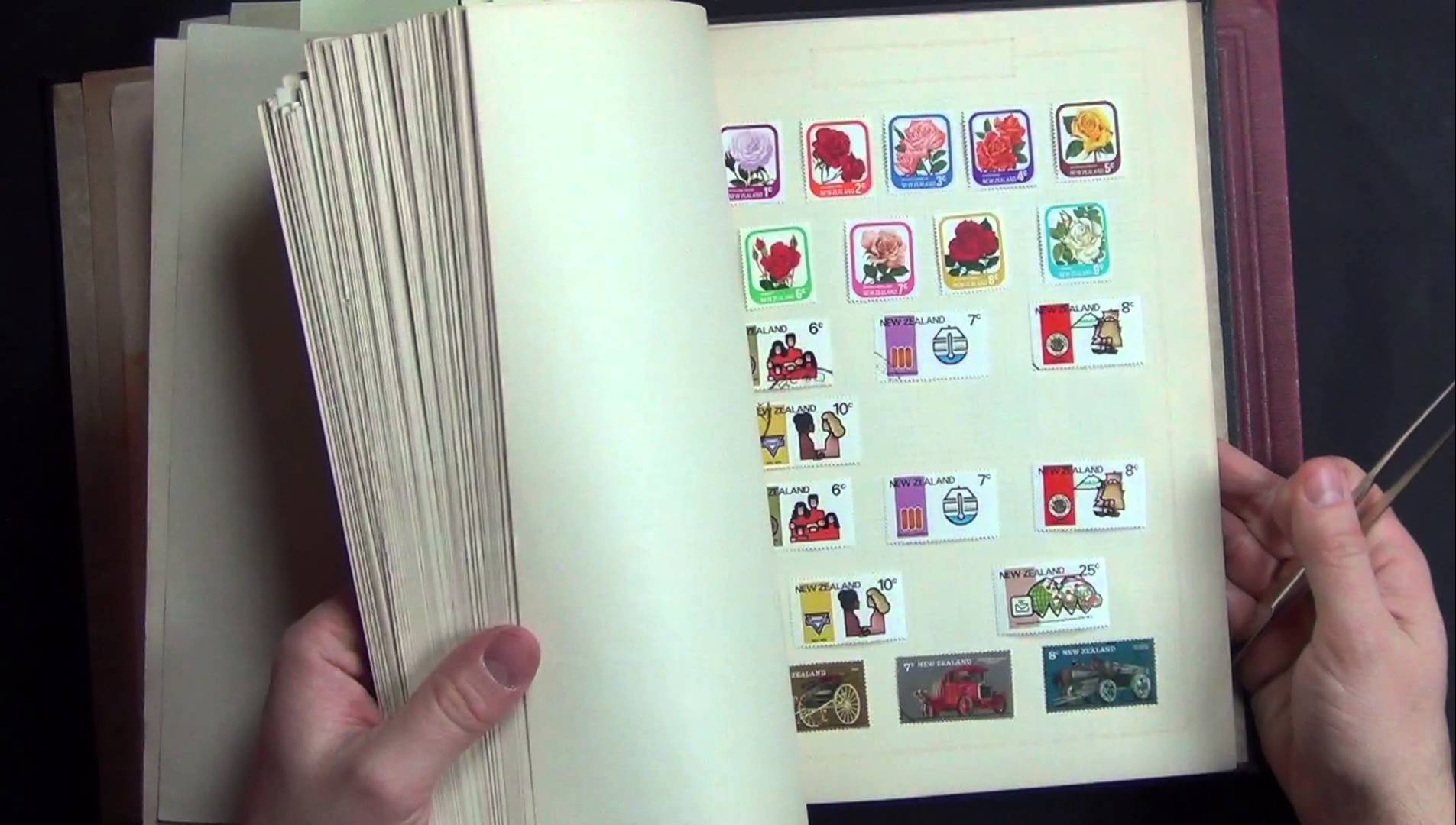 Stamp Collecting – Miniature Artworks USA